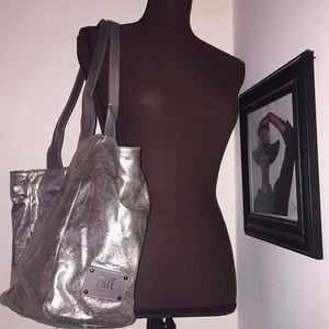 Frye Gold Tote Bag